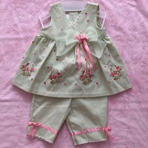 Dressy top and pants set